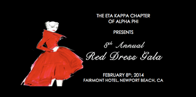 Alpha Phi's 8th Annual Red Dress Gala