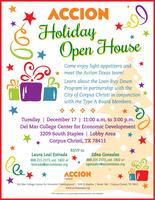 Accion Corpus Christi Holiday Open House