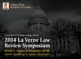 Legal Symposium - Cause Lawyering: 60 Years After...