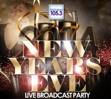 105.3 NEW YEARS EVE COMEDY JAM & LIVE BROADCAST PARTY
