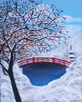 Pa'ina Paint Club - Persimmon Tree In Winter