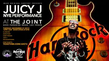 Juicy J New Years Eve Performance at The Joint