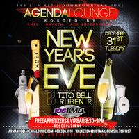 New Year's Eve at Agenda Lounge