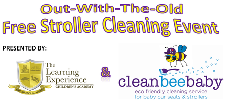 Out-With-The-Old Free Stroller Cleaning Event