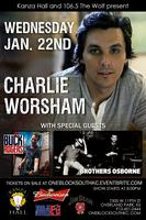 Charlie Worsham with Special Guest Brothers Osborne &...