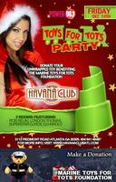 Friday December 13th: Toys for Tots Drive Party at...
