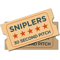 30 Second Pitch, Sniplers Call For Entries New Media...