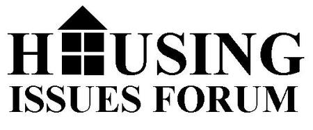 Housing Issues Forum