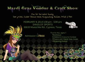 Mardi Gras Vendor & Craft Show