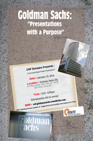 Goldman Sachs Host: Presentations with a Purpose with...