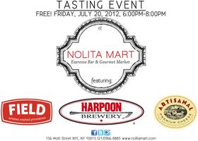 Free Tasting Event with Harpoon Beer, Field Beef...