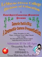 Dancin Nativity: Dramatic Dance Presentation
