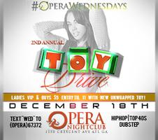 Annual Toy Drive | 18+ | 12.18.13