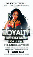 OFFICIAL LIL KIM & GILLIE DA KID ROYALTY BIRTHDAY BASH