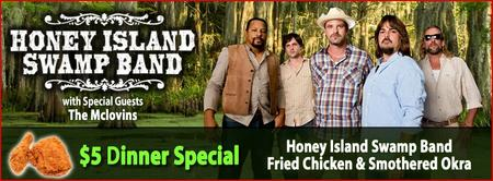 The Funky Biscuit Presents Honey Island Swamp Band With...