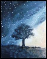 Sip n' Paint Milky Way: Friday, February 21st, 6:00pm