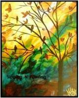 Sip n' Paint Evening Song: Saturday, February 22nd,...