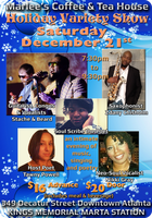 Holiday Variety Show at Marlee's Coffee & Tea House