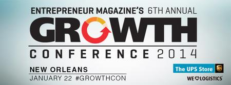 Entrepreneur magazine's 6th annual Growth Conference...