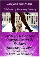 Lord and Taylor Fashion Show for Tri County Humane Soci...
