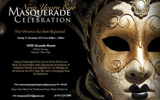 Tampa NYE Masquerade Dinner Party & Celebration