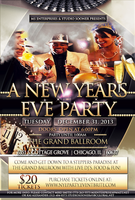 NEW YEARS EVE at ThE Grand Ballroom