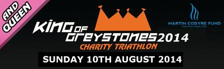 King of Greystones Charity Triathlon 2014