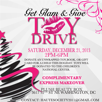 GET GLAM & GIVE TOY DRIVE