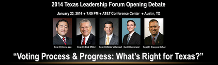 Voting Rights Debate at the 2014 Texas Leadership...