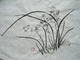 Asian Brushwork Painting - FOUR SPACES  HAVE OPENED...