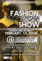 JT Mac Productions Fashion, Jazz & Spoken Word Show