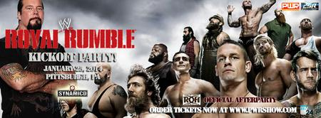 Royal Rumble Kickoff Party with Kevin Nash & Ring of...