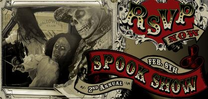 2nd Annual Spook Show for Halloween & Horror...