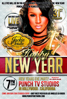 Jackie Christie Hosts New Year's Eve at Punch TV...