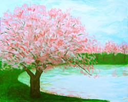 Pa'ina Paint Club - Cherry Blossoms