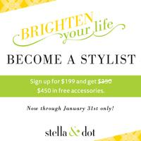 New Year, New Opportunity with Stella & Dot Associate...