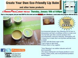 Hoboken DIY: Create Your Own Eco-Friendly Lip Balm and...