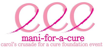 Mani-for-a-Cure 2014: A Carol's Crusade For a Cure...