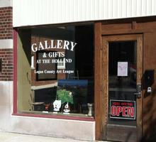 Bellefontaine Slow Art Day - Gallery at the Holland...