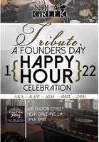 Tribute. A Founders Day Happy Hour