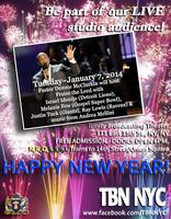 Donnie McClurkin Live TBN Taping, with NFL Players,...