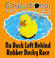 2014 Educational Foundation No Left Behind Rubber Duck...
