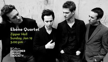 The Colburn Chamber Music Society with Ebène Quartet