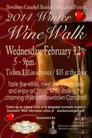Downtown Campbell Winter Wine Walk (02/12/14)
