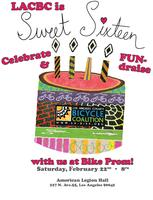Sweet 16 Bike Prom benefiting LACBC