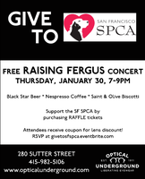 Give to SF SPCA