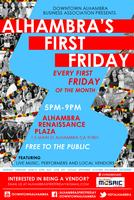 Alhambra's First Friday Feb 2014 LOVE