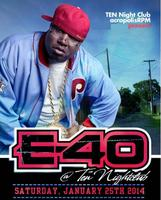 Rapper E-40 (of The Click) (hits Tell Me When To Go, U...
