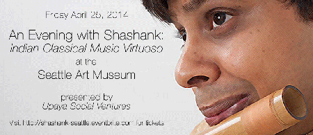 An Evening with Shashank: Indian Classical Music...
