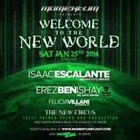 MOMENTUM: WELCOME TO THE NEW WORLD (Isaac...